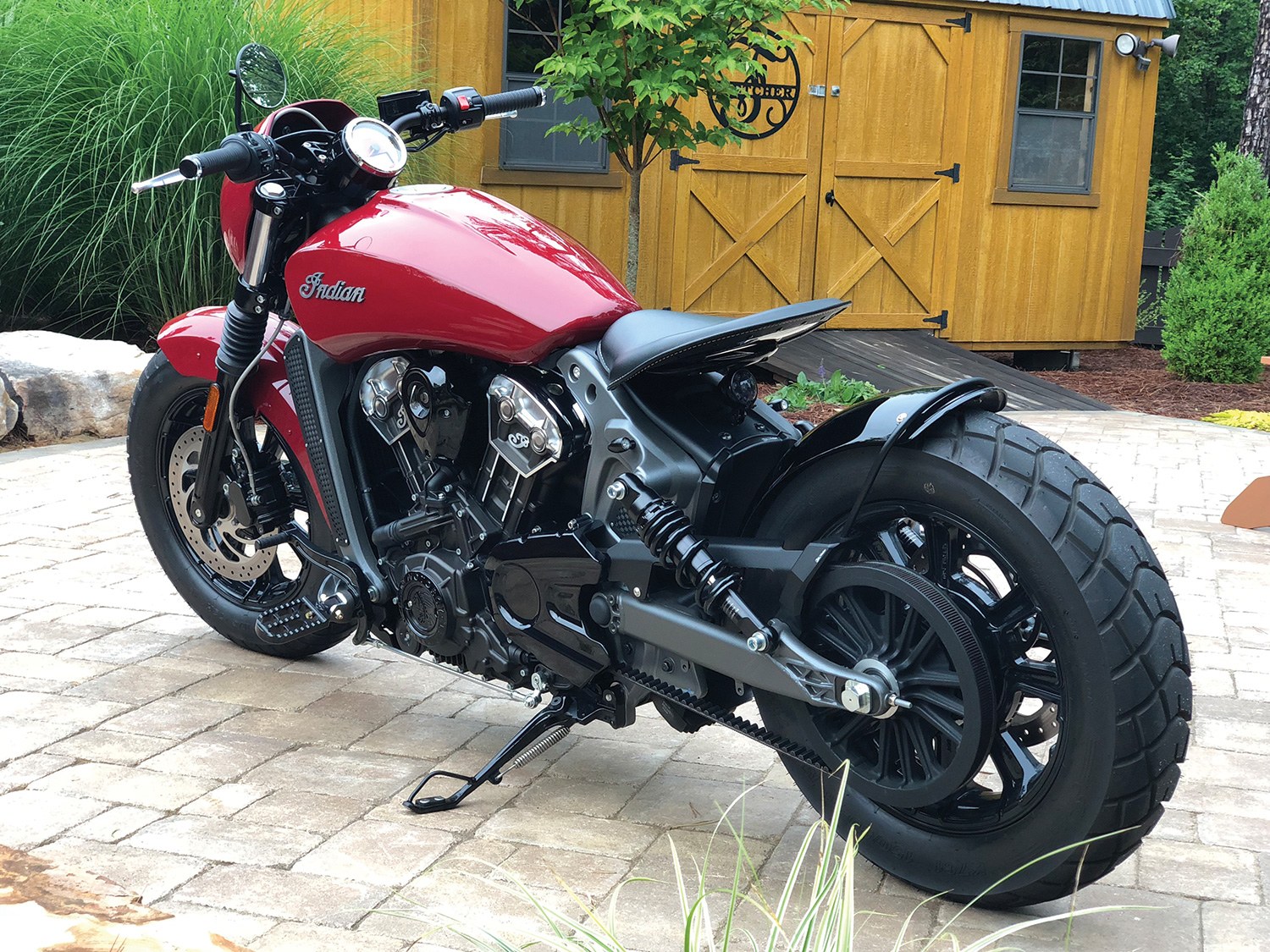 A Dirty Bird Look Alike Indian Scout Bobber Harley Magazine American Iron Magazine Motorcycle Reviews Forums And News Aimag Com